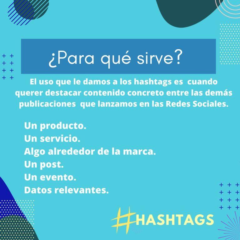 Poder de un buen hashtags